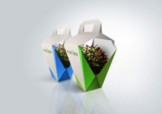 Contoh Desain Kemasan Unik Menarik - Contoh desain kemasan unik menarik - packaging design - Flower Garden