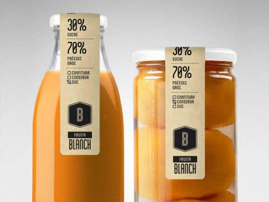 Contoh Desain Kemasan Unik Menarik - Contoh desain kemasan unik menarik - packaging design - Fruita Blanch