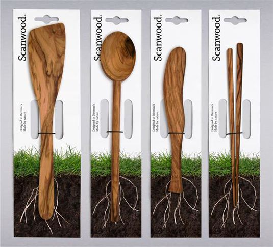 Desain Kemasan Unik Menarik - packaging design - Scanwood When wood is good