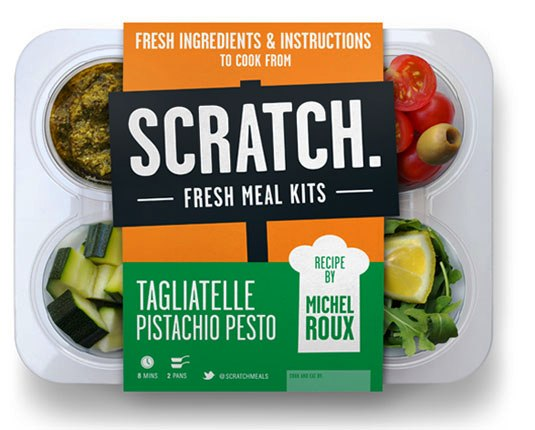 packaging design - Scratch