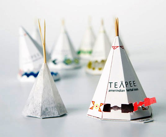 packaging design - TeaPee