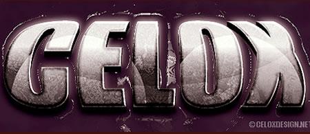 Tutorial Membuat Effek Teks di Photoshop - 3D-Bulge-Text-Effect-tutorial-Crea