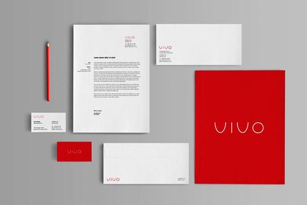 Desain Stasioneri Inspiratif Siap Print dan Cetak - Branding Stationery Mock-Up