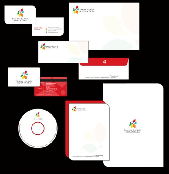 Contoh Desain Kop Surat dan Kartu Nama Paling Kreatif - stationery overview