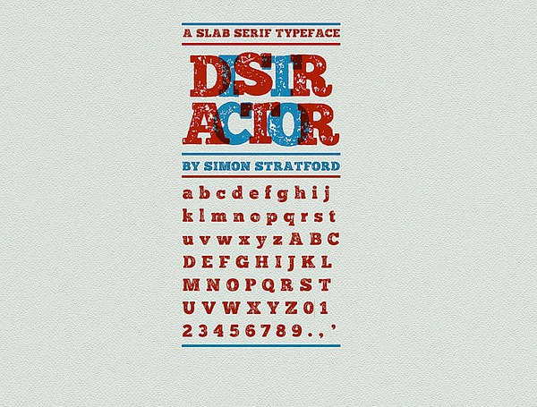 Download 100 Font Gratis untuk Desain Grafis dan Web - Distractor Free Font