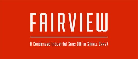 Download 100 Font Gratis untuk Desain Grafis dan Web - Fairview Free Font
