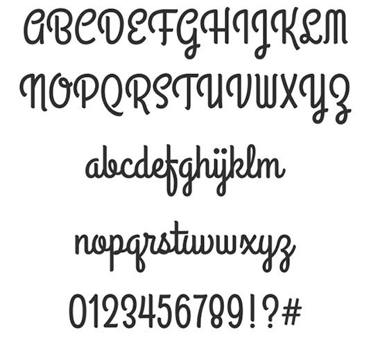 Download 100 Font Gratis untuk Desain Grafis dan Web - Grand Hotel Free Font