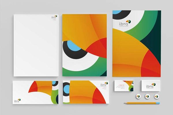 Desain Stasioneri Inspiratif Siap Print dan Cetak - IBRA