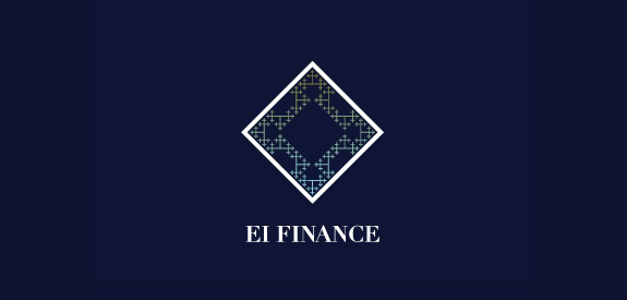 Contoh Desain Logo Institusi Keuangan - Logo Keuangan El Finance