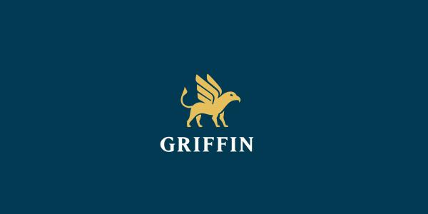 Contoh Desain Logo Institusi Keuangan - Logo Keuangan Griffin
