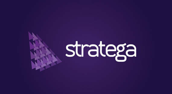 Contoh Desain Logo Institusi Keuangan - Logo Keuangan Stratega