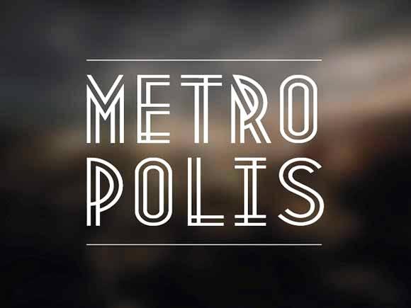 Download 100 Font Gratis untuk Desain Grafis dan Web - Metropolis Free Font