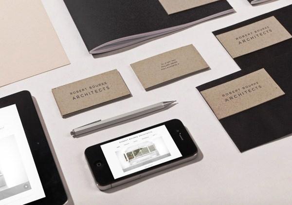 Desain Stasioneri Inspiratif Siap Print dan Cetak - Robert Bourke Architects