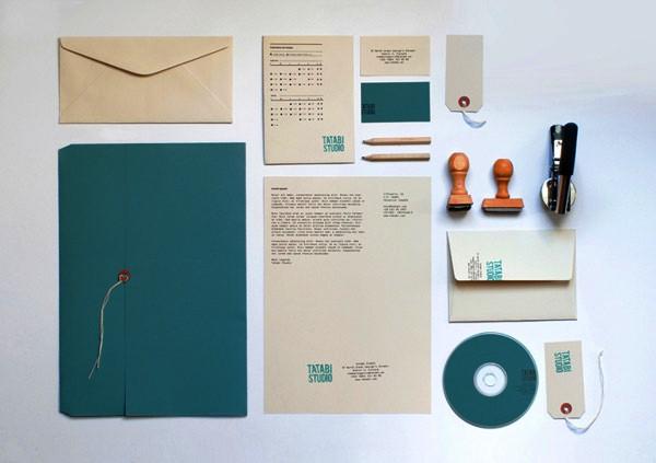 Desain Stasioneri Inspiratif Siap Print dan Cetak - TATABI Stationery