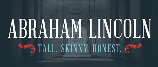 Download 100 Font Gratis untuk Desain Grafis dan Web - download gratis abraham lincoln font free