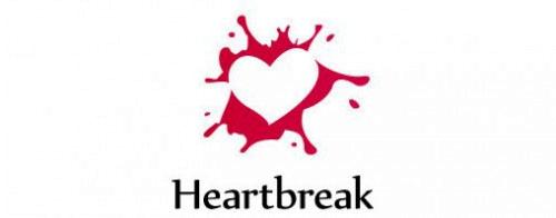 Contoh Logo Bertemakan Hati Love Heart - heart-break