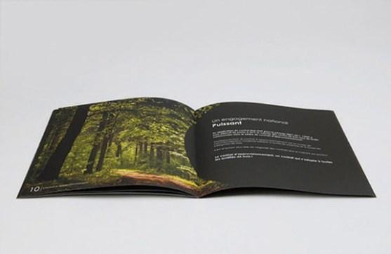 Contoh Brosur dengan Desain Dominasi Warna Hitam - modern-nature-BrosurDesain-Warna-Hitam