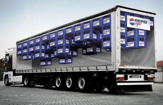 Contoh Pamflet dengan Ide Cerdas dan Desain Lucu - Contoh-Pamflet-Pepsi-Light