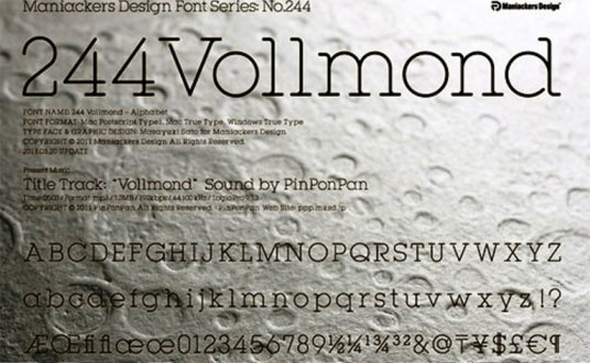 Font Cantik Free Download Gratis - Vollmond
