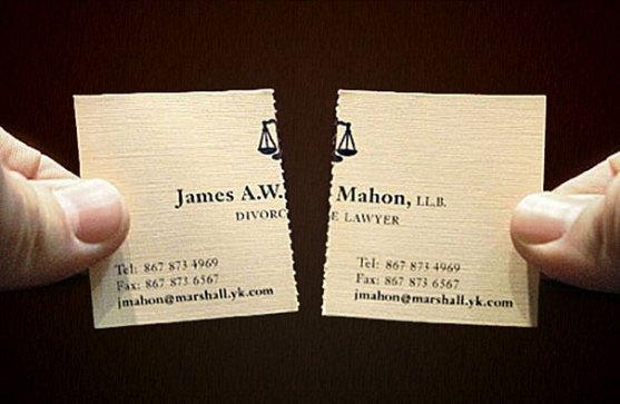 Contoh Desain Kartu Nama Kreatif - Kartu-Nama-Pengacara-Perceraian-2