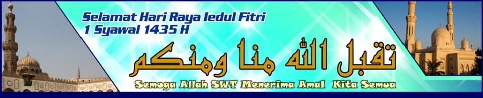 5 Banner Spanduk Lebaran Idul Fitri Ayuprint 1435 2014