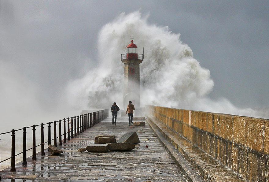Mercusuar Terindah di Dunia - Gambar Foto Lampu Mercusuar Porto, Portugis2