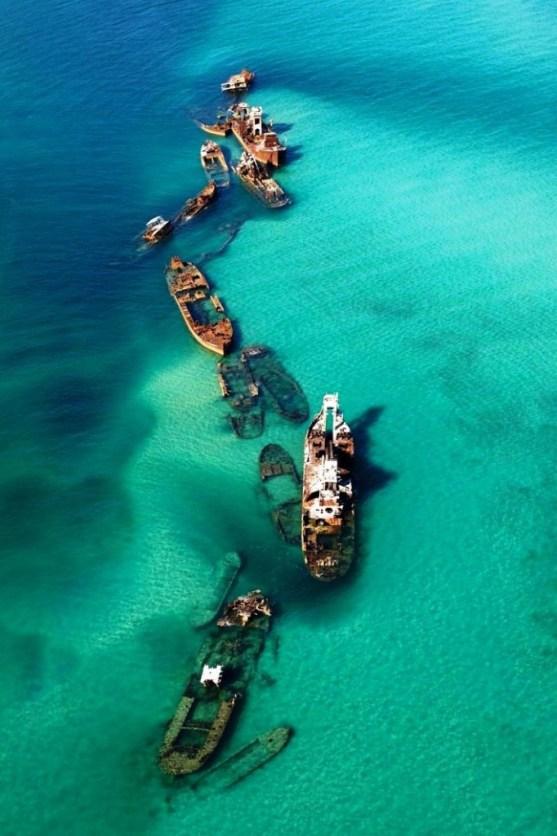 Foto Luar Biasa Yang Belum Pernah Anda Lihat - Gambar-Foto-pulau-moreton-di-Queensland-Australia-682x1024