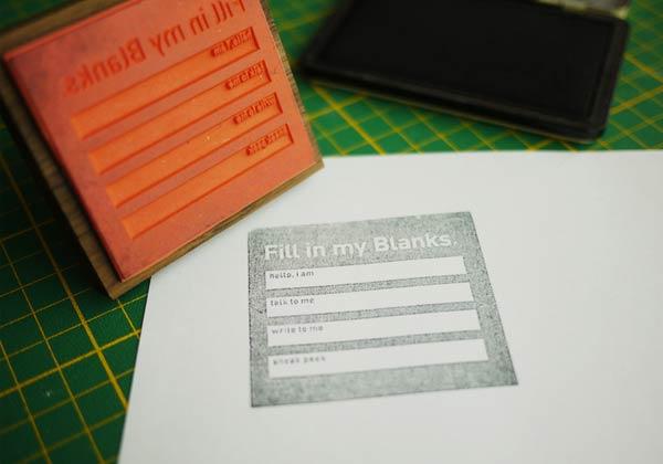 39 Desain Stempel Karet Standar Biasa - Desain Stempel Karet - Formulir 1