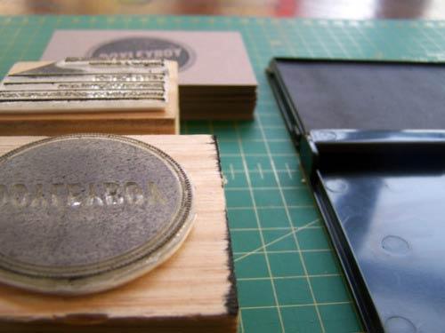 39 Desain Stempel Karet Standar Biasa - Desain Stempel Karet - Kartu Nama 6