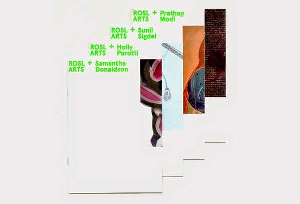 22 Disain Katalog Kreatif - Contoh desain katalog - ROSL ARTS, Annual Scholars exhibition oleh Studio Buoy