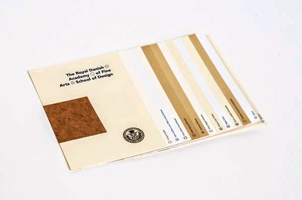 22 Disain Katalog Kreatif - Contoh desain katalog - The 2012 Graduate Show oleh Michael Hansen