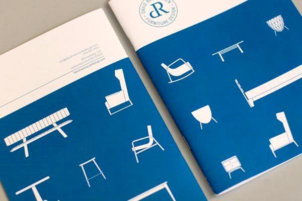 Desain Katalog Brosur Furnitur Modern - Katalog Brosur - - David Rasmussen 1