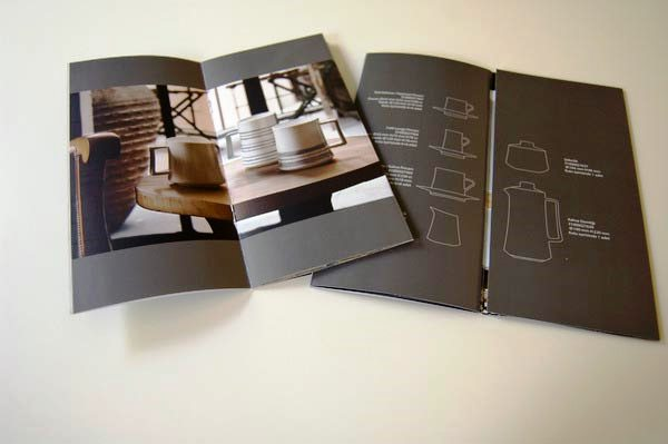 Desain Katalog Brosur Furnitur Modern - Katalog Brosur - - Koleksiyon Tableware Brochures & Furniture Catalogue 1
