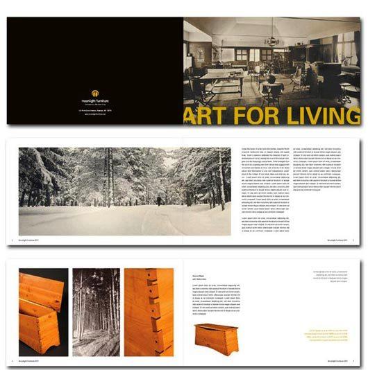 Desain Katalog Brosur Furnitur Modern - Katalog Brosur - - Moonlight Furniture 1