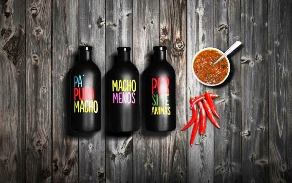 Desain Kemasan Sambal Saus yang Kreatif - Desain Kemasan Makanan Saus Sambal - LOS MEZQUITES oleh MBranding