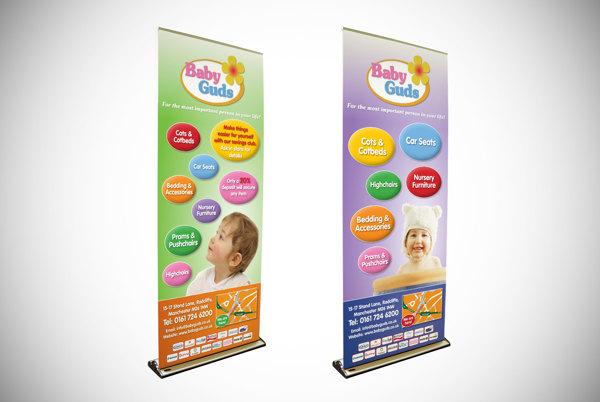Desain Roller Banner
