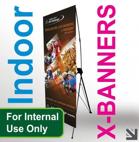 15 Desain Roller Banner - Desain Roller X Banner - In Door X-Banner