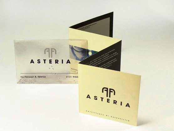 17 Desain Katalog Perhiasan Brosur Permata - Desain katalog brosur perhiasan - ASTERIA Fine Italian Jewelery Brand ID 2