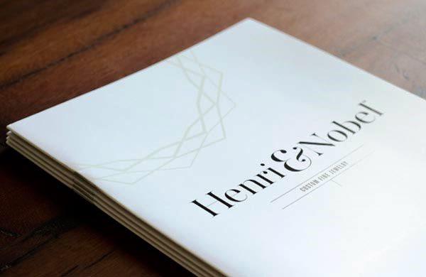 17 Desain Katalog Perhiasan Brosur Permata - Desain katalog brosur perhiasan - Henri & Nobel Fine Jewelry 1