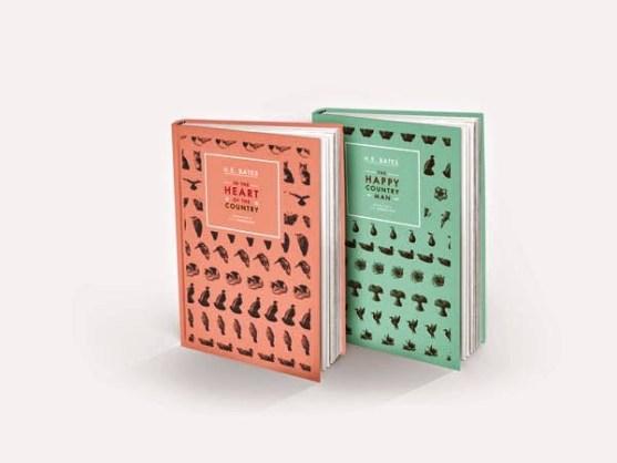 Gambar Kover Buku dengan Ide Desain Kreatif - Gambar-Kover-Buku-Ide-Desain-Kreatif-H.E.-Bates-Book-Design-oleh-Daniel-Forni