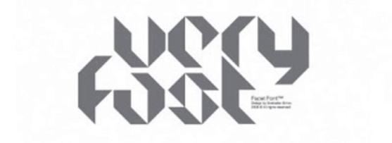 62 Font Unik untuk Desain Grafis - Font-Unik-Facet