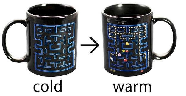 25 Mug Desain Keren untuk Para Maniak - Mug Desain Keren - Gambar game pacman