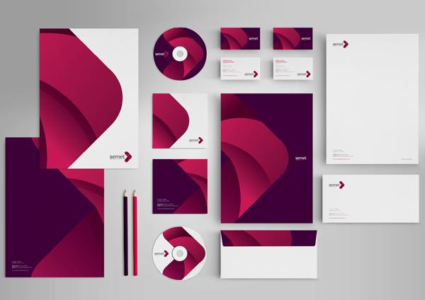17 Kop Surat dengan Desain Elegan - Semet-Identity-Branding - Kop Surat Desain Elegan