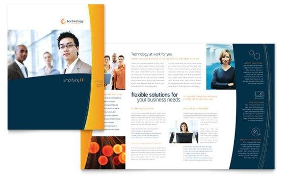 Template Desain Download Gratis - Template-Desain-Brosur-Standar-Download-Free-PDF