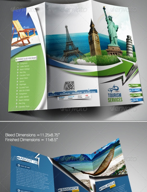 25 Contoh Desain Brosur Tour Dan Travel Terbaik - Brosur-Tour-dan-Travel-Travel-Tours-Trifold-Brochure-Template