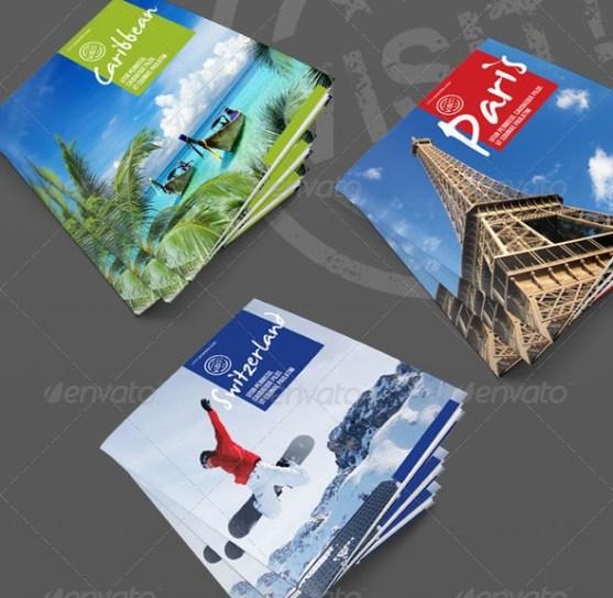 25 Contoh Desain Brosur Tour Dan Travel Terbaik - Brosur-Tour-dan-Travel-Visit-Series-Square-Tourism-Brochure