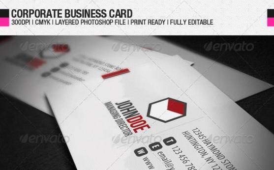 14 Desain Kartu Nama Perusahaan - Desain-Kartu-Nama-Perusahaan-Corporate-Business-Card