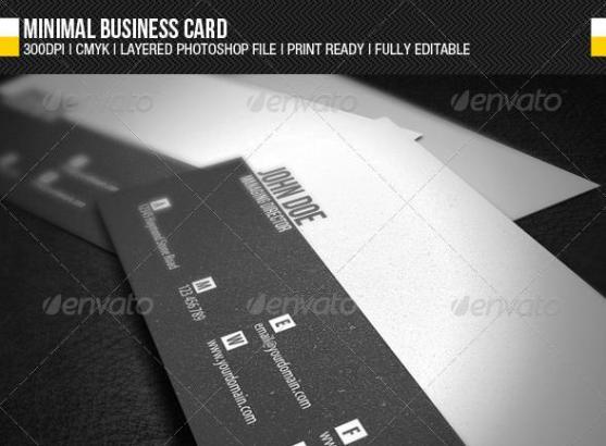 Desain kartu nama perusahaan