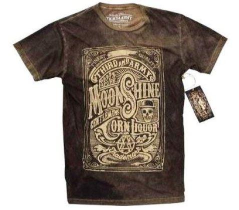 27 contoh kaos dengan desain keren - Desain kaos keren - Moonshine T-shirt