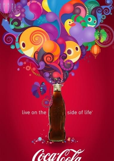 46 Contoh Poster Desain Inspiratif - Poster-inspiratif-tentang-Coca-Cola-poster